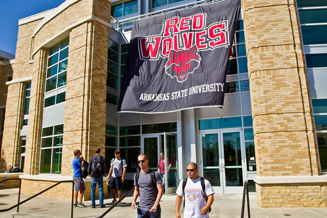 arkansas-state-university-red-wolves-banner-student-union
