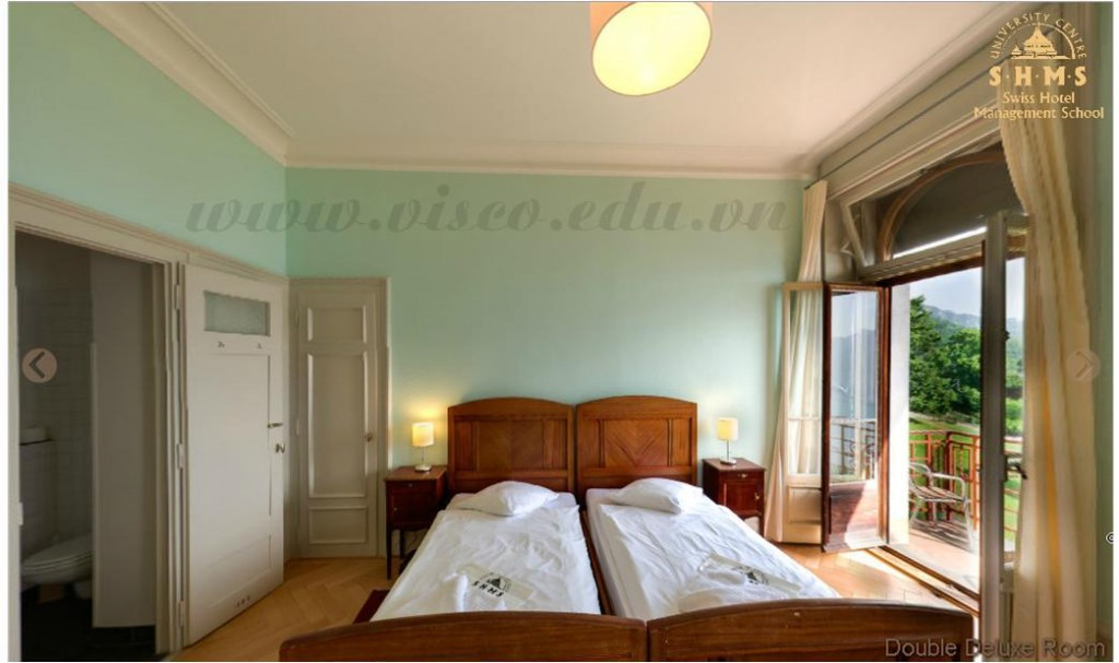 double deluxe room 3 of shms